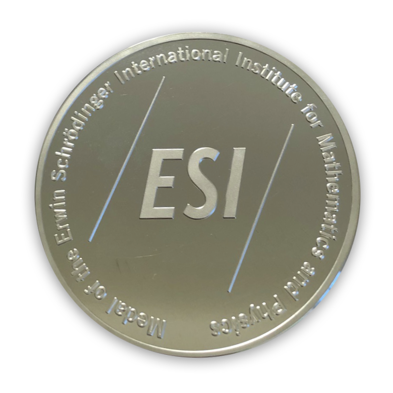 Back view of the ESI medal