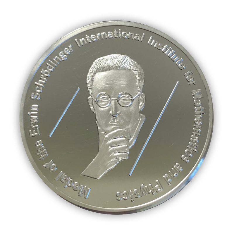 Front view of the ESI medal